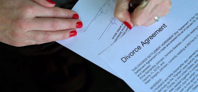 نمونه متن توافقنامه طلاق توافقی
