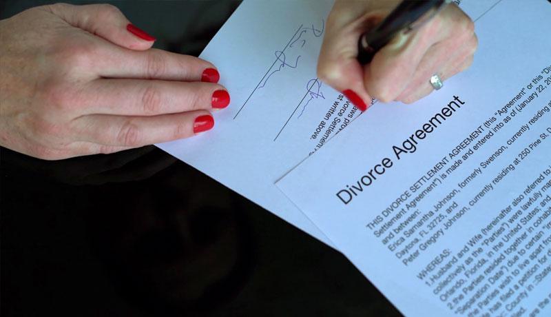 نمونه توافقنامه طلاق توافقی